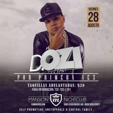 HsaOvcD - Evento: D.OZi – Mansion NightClub (New Jersey) (28 Agosto, 2015)