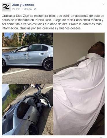 labwtJC - Ultimo minuto Baby Rasta sufre accidente en su carro
