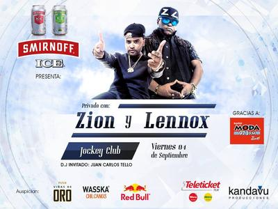 mFYS8UN - Evento: Zion y Lennox – Jockey Club (Lima, Perú) (4 de Septiembre)