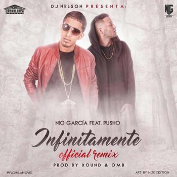 vcc8llfgabx1 - Nio Garcia Ft. Pusho - Infinitamente (Official Remix)
