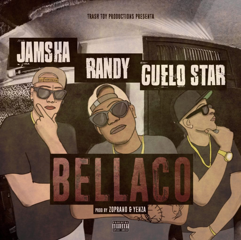 vnc9xs - Cover: Jamsha Ft. Randy, Guelo Star - Bellaco
