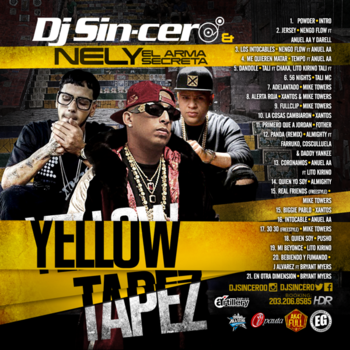 w8TuQjg - Dj Sincero & Nely El Arma Secreta - Yellow Tapez (2016)