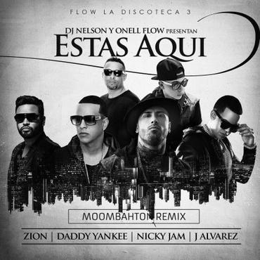 yX5yJHG - DamnFrog Ft. Zion, Daddy Yankee, Nicky Jam Y J Alvarez - Estas Aqui (Moombahton Remix)