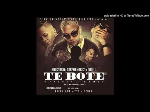0 10 - Nio Garcia Ft. Casper, Darell, Ozuna, Nicky Jam y Más – Te Boté (Official Remix) (Preview)