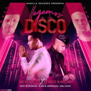 disco 300x300 - Bryan Boss Ft. Kendo Kaponi - Llegamos A La Disco
