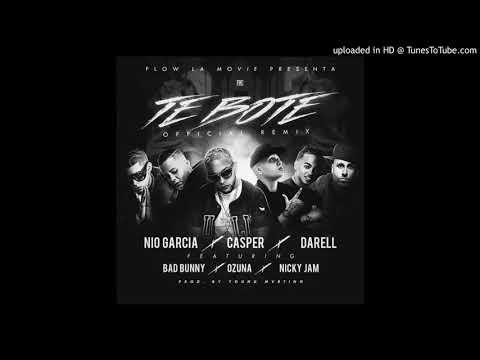 0 40 - Nio Garcia Ft. Casper, Darell, Bad Bunny, Ozuna y Nicky Jam – Te Boté (Remix) (Preview Ozuna)