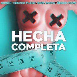 HECHA 300x297 - Noriel, Chucho Flash, Baby Rasta y Ñengo Flow – Hecha Completa (Official Video)