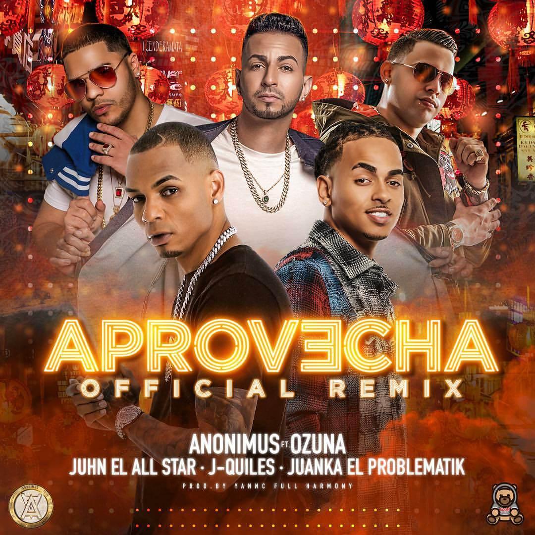apro - Anonimus Ft Ozuna, Juhn El All Star, J Quiles Y Juanka El Problematik - Aprovecha (Official Remix)