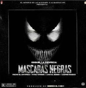 mascaras 295x300 - Osquel Ft. Pacho, Myke Towers, Lyan El Bebesi Y Casper Magico - Mascaras Negras