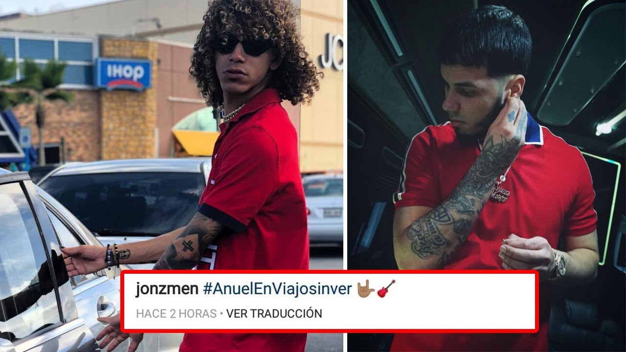 """4sovetvpjoi - Jon Z le gustaría que Anuel se montara en el remix de """"Viajo Sin Ver Remix"""""""