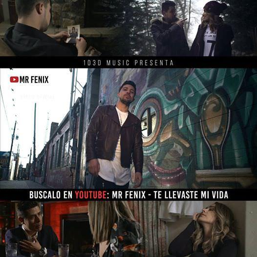 """AW3vbIk - """"Te Llevaste Mi Vida"""" Le Nueva Propuesta Musical de Mr Fenix"""