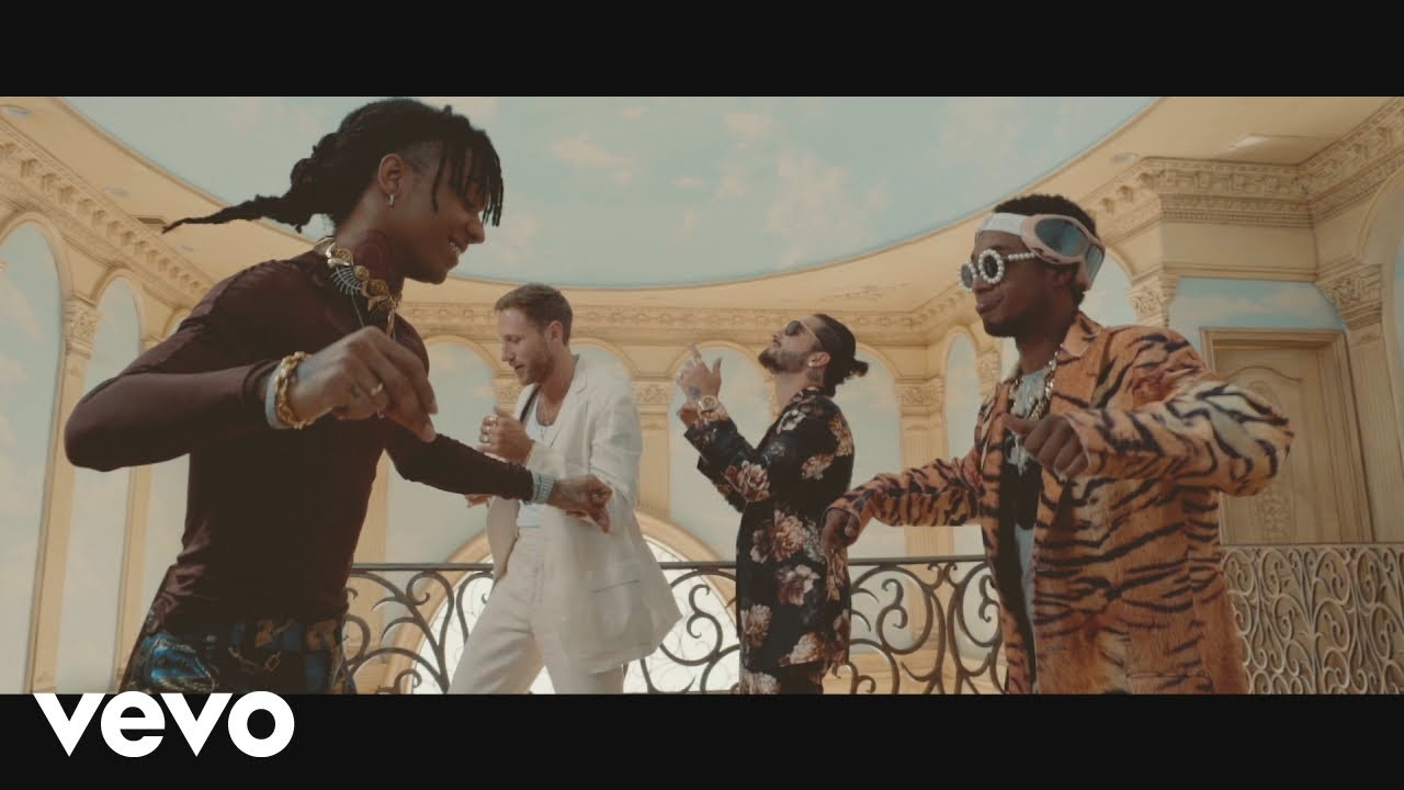oivrbacqbf4 - BURNS, Maluma, Rae Sremmurd – Hands On Me (Official Video)