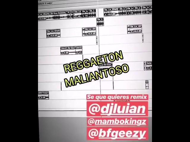 31mjxko0u2o - De La Ghetto Ft. Jon Z, Brytiago y Almighty – Se Que Quieres (Remix) (Preview)