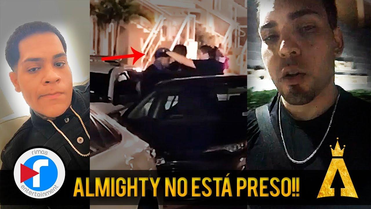 4ssa3w8pjii - ¡LO ÚLTIMO! Almighty NO está preso, pero sí fue esposado | Su equipo explica los sucesos