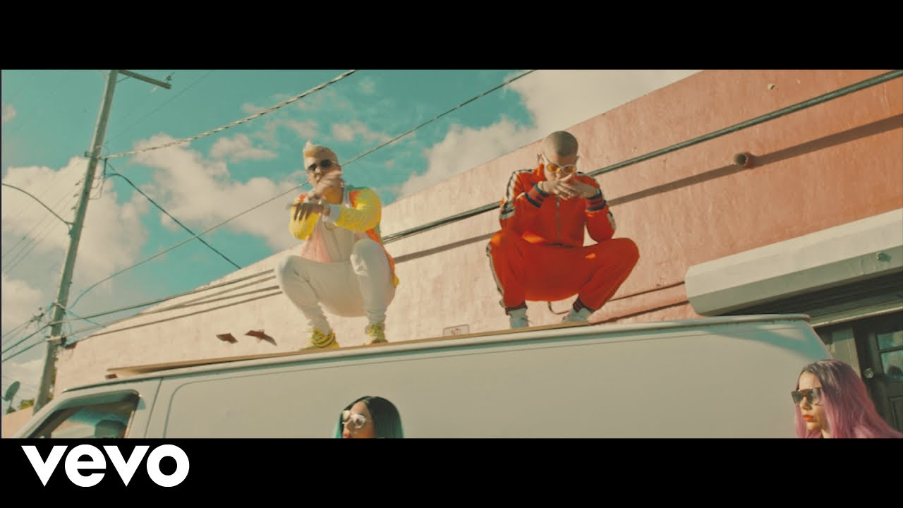 rabmh1txbhs - Noriel, Bad Bunny, Arcángel – De las 2 (Official Video)