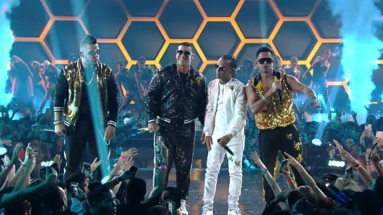kl6vzem5k q - Daddy Yankee, RKM Y Ken-Y, Arcangel – Zum Zum (Premios Juventud Live)