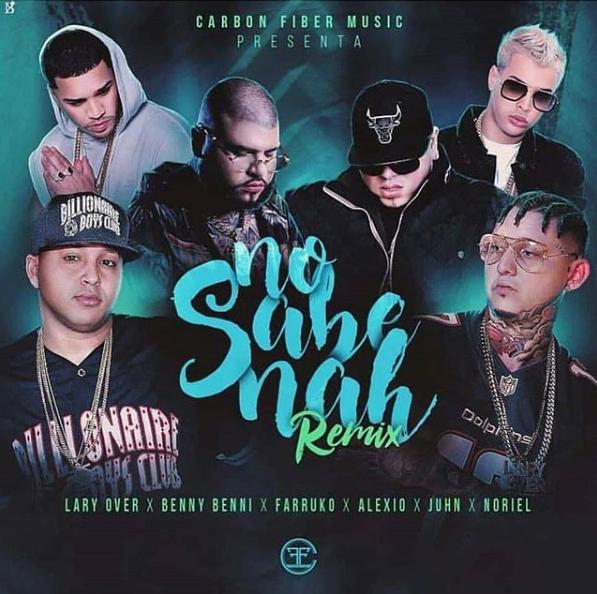 nosabena - Benny Benni Ft. Lary Over, Farruko, Alexio, Noriel Y Juhn – No Sabe Nah (Official Remix)