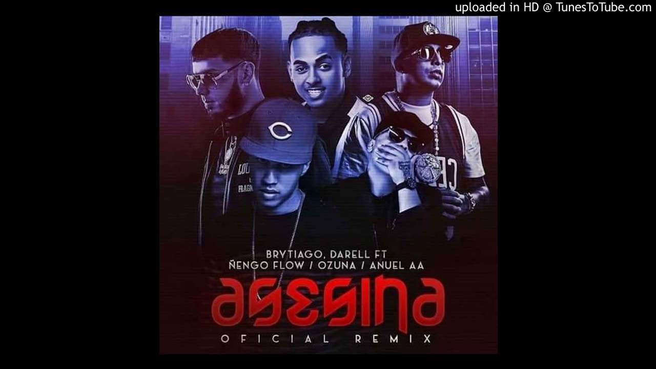 vtn0h ricm - Brytiago Ft. Darell, Ñengo Flow, Anuel AA Y Ozuna – Asesina (Remix) (Preview)