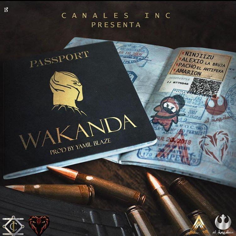 wakanda - Ninjiizu Ft. Alexio La Bruja, Pacho El Antifeka y Amarion – Wakanda
