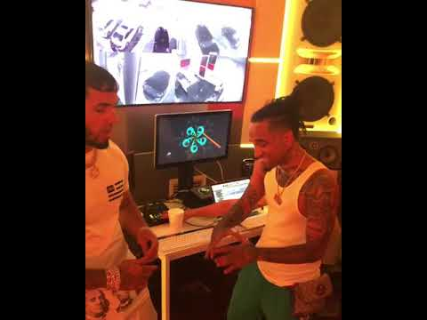 0 9 - Bryant Myers Ft. Bad Bunny Y Anuel AA – Triste (Remix) (Preview Anuel)