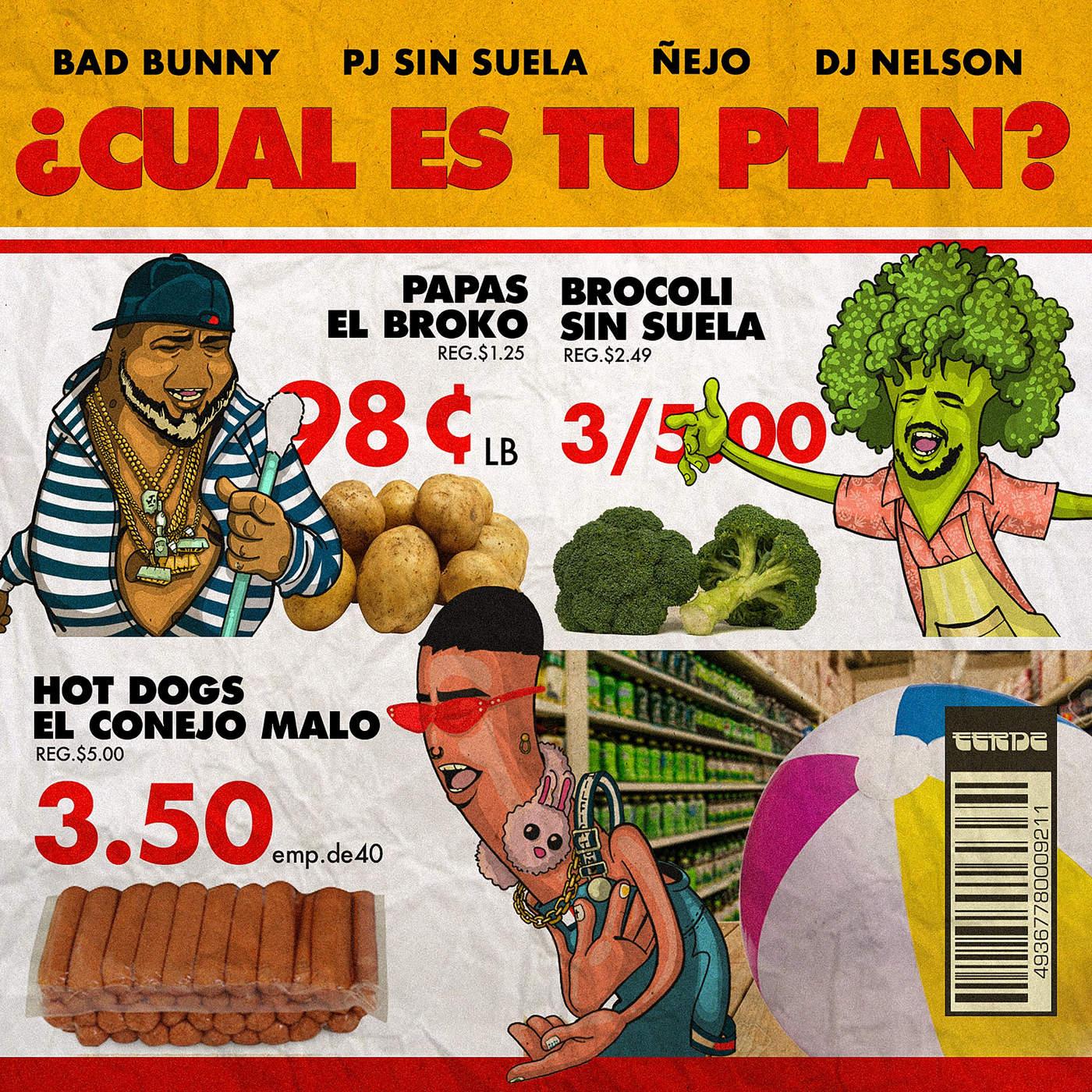plan - Bad Bunny, Ñejo, Pj Sin Suela – Cual Es Tu Plan
