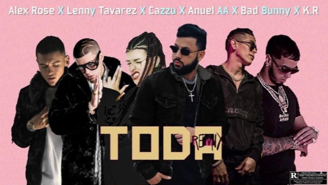 axkjwd9i2m - Alex Rose Ft. Lenny Tavarez, Cazzu, Anuel AA y Kevin Roldan – Toda (Remix 2) (Official Preview)