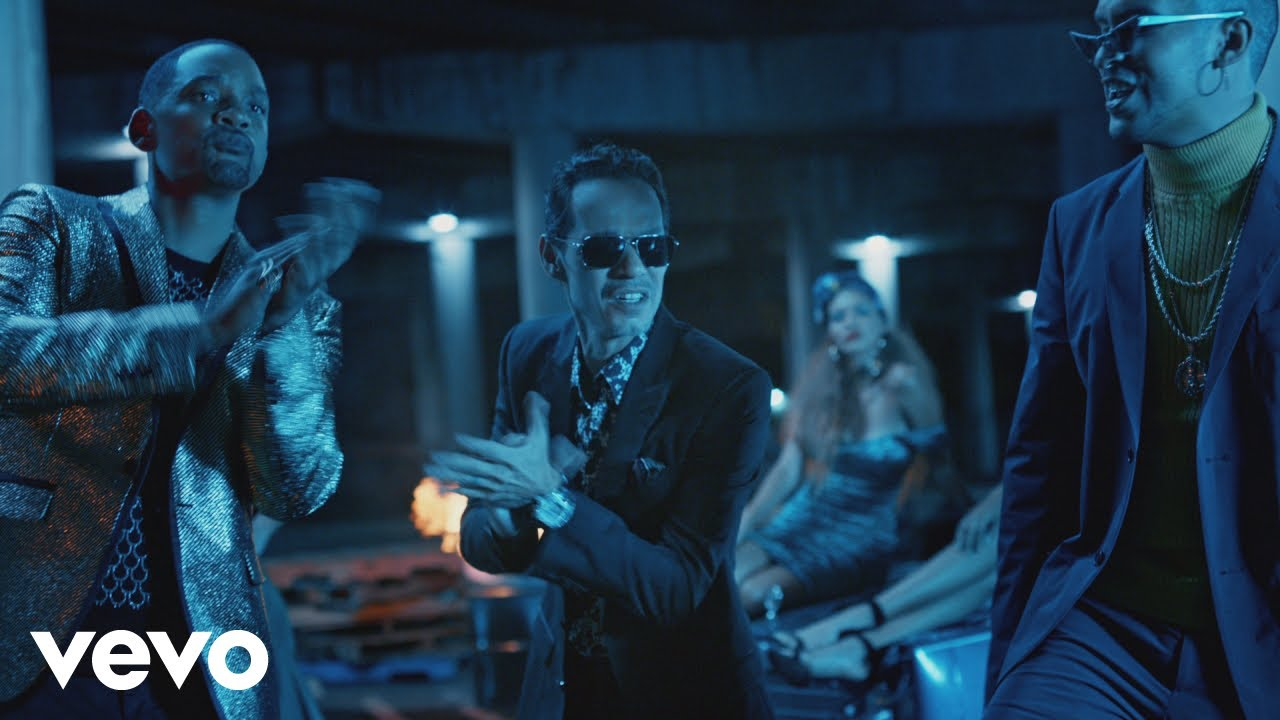 bhukeveg4 - Marc Anthony Ft. Will Smith, Bad Bunny – Está Rico (Official Video)