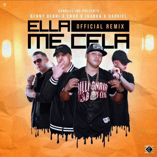 cela 600x600 - Findy Ft. Benny Benni - Pa' Perrialte Toa (Official Remix)