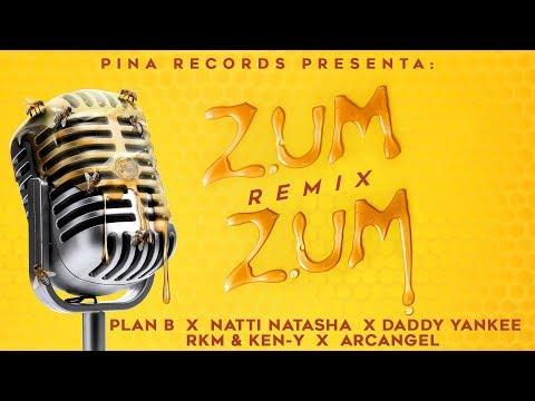 0 2 - Daddy Yankee Ft. RKM y Ken-Y Arcangel Plan B Y Natti Natasha - Zum Zum (Official Remix)