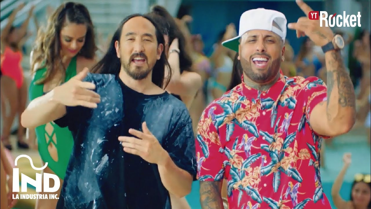 cik5zxzdlka - Nicky Jam – Jaleo (Official Video)