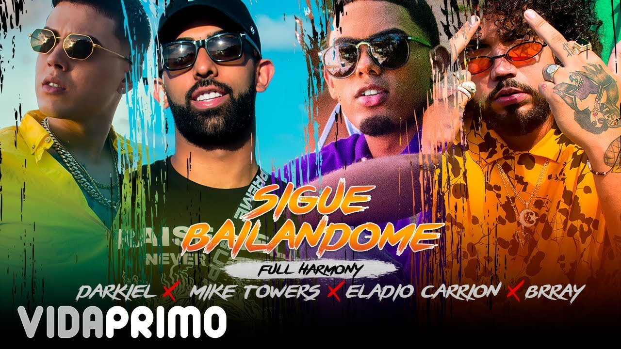 zgy7ak0rnbi - Darkiel Ft. Mike Towers, Eladio Carrion & Brray – Sigue Bailandome (Official Video)