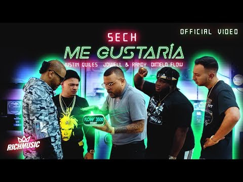 0 46 - Sech Ft. Justin Quiles, Jowell Y Randy Y Dimelo Flow – Me Gustaría (Official Video)