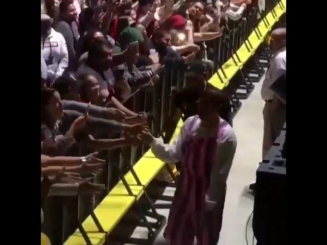 i8qhxksd k0 - Bad Bunny con gran gesto en un concierto
