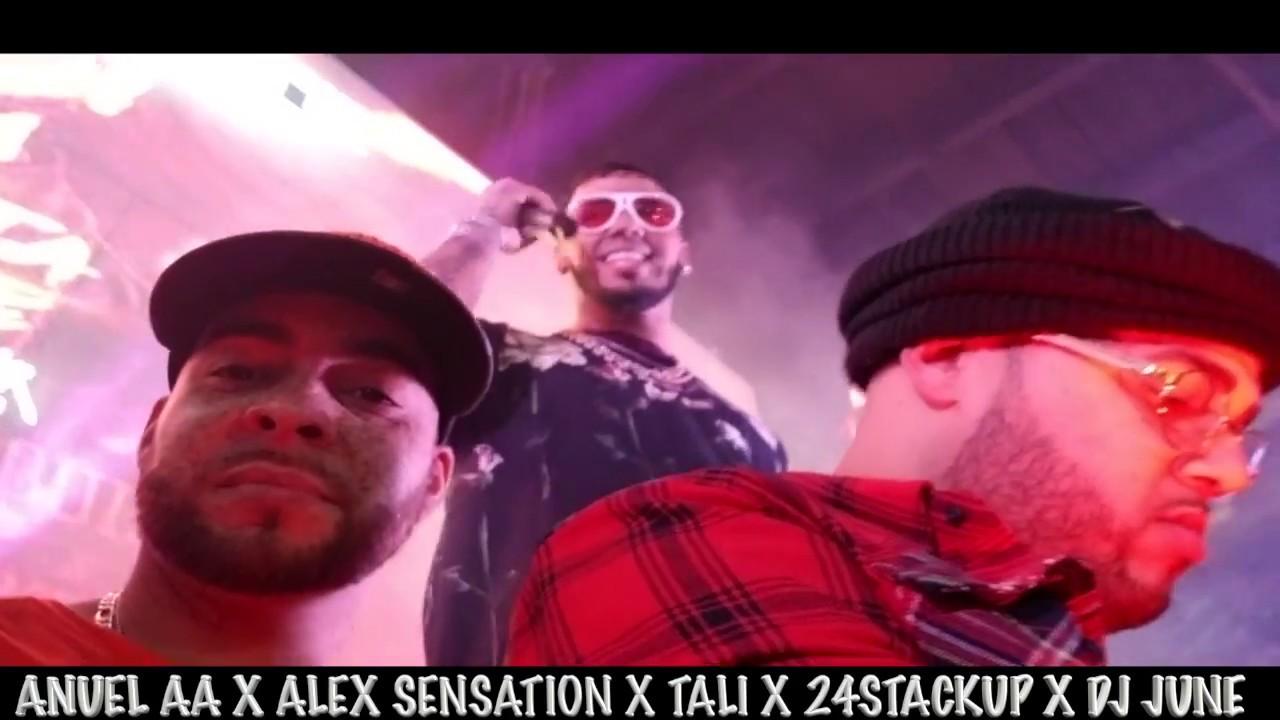 kpnflaclt9a - Anuel AA, Alex Sensation, Tali Goya, 24StackUp, DJ June – New Jersey (2018)