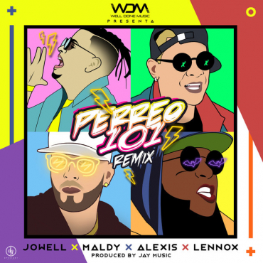 1544108102wacbq1r - Jowell Ft. Maldy, Alexis & Lennox - Perreo 101 (Official Remix)