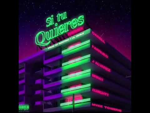 0 17 - Darell Ft. Almighty, Farruko, J Alvarez, Myke Towers y Brray – Si Tu Quieres (Remix) (Preview)