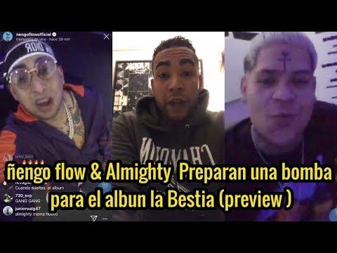 0 39 - WAO INCREIBLE ! Don Omar Envía Mensaje De Aliento, Ñengo flow y Almighty Grabando Para El Album!