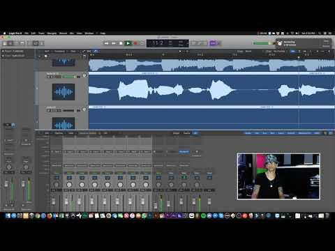 0 75 - Galante El Emperador - Preparando proyecto Para Mezclar Voces | Logic Pro X