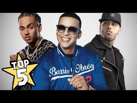 0 - Top 5 Mejores Canciones De 2018 En Español | Ozuna, Nicky Jam, Daddy Yankee