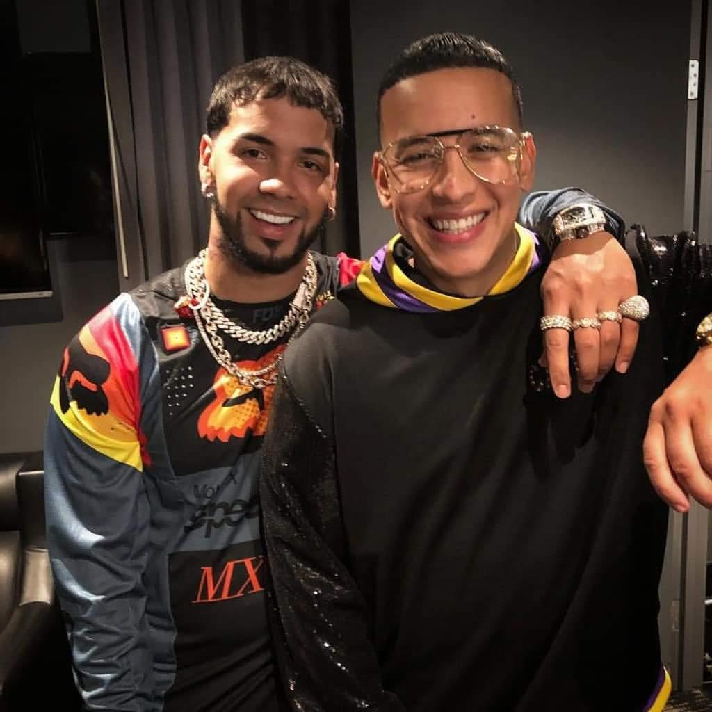 FB IMG 1547991827425 - Anuel dice que Daddy Yankee quiere que el sea su sustituto