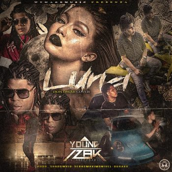 Young Izak Luna Cover Don Omar 350x350 - Young Izak Ft. Falsetto, Byron Fire Y Baby Johnny – Guatauba 18