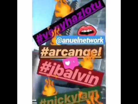 0 7 - Nicky Jam Ft. Anuel AA, Arcángel y J Balvin – Ven y Hazlo Tú (Preview)