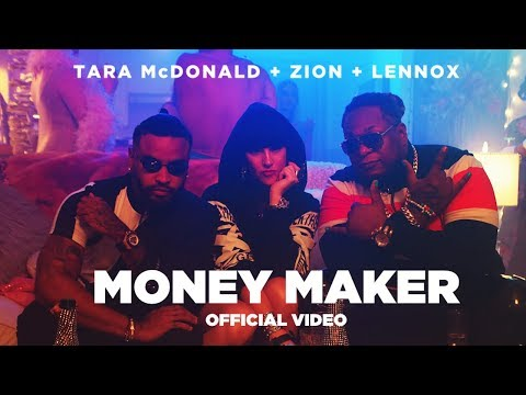 0 5 - Tara McDonald feat. Zion Y Lennox - Money Maker (Official Video)