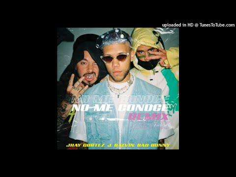 0 58 - Jhay Cortez Ft. J Balvin Y Bad Bunny – No Me Conoce (Official Remix)