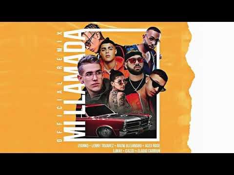 0 85 - Rauw Alejandro, Lunay, Cazzu, Lenny Tavarez, Alex Rose, Lyanno, Eladio Carrion - Mi llamada (Remix) -