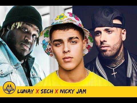 0 17 - Lunay grabó con Nicky Jam y Sech ¿Que esperar?
