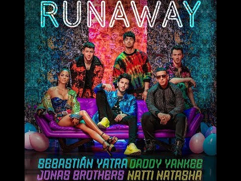 0 30 - Sebastian Yatra Ft. Daddy Yankee, Natti Natasha y Jonas Brothers – Runaway (Video Vertical)