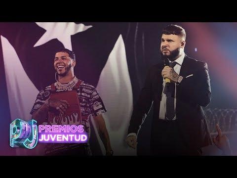 0 59 - Anuel AA Y Farruko – Delincuente (Premios Juventud 2019)