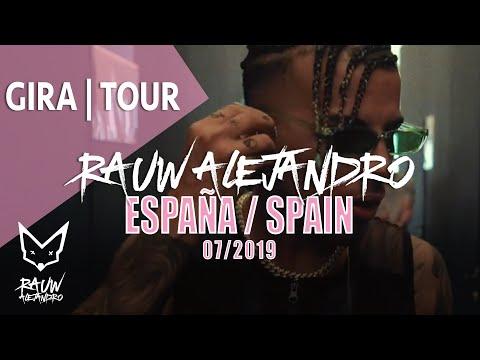 0 30 - Rauw Alejandro – Gira / Tour (España, 2019)