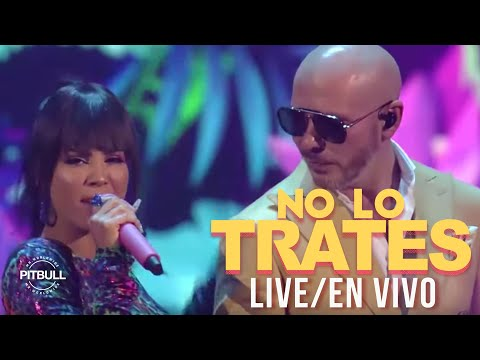 0 45 - Pitbull Ft. Daddy Yankee y Natti Natasha – No Lo Trates (Premios Juventud) (Live 2019)
